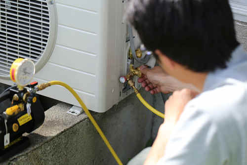 air con gas topping
