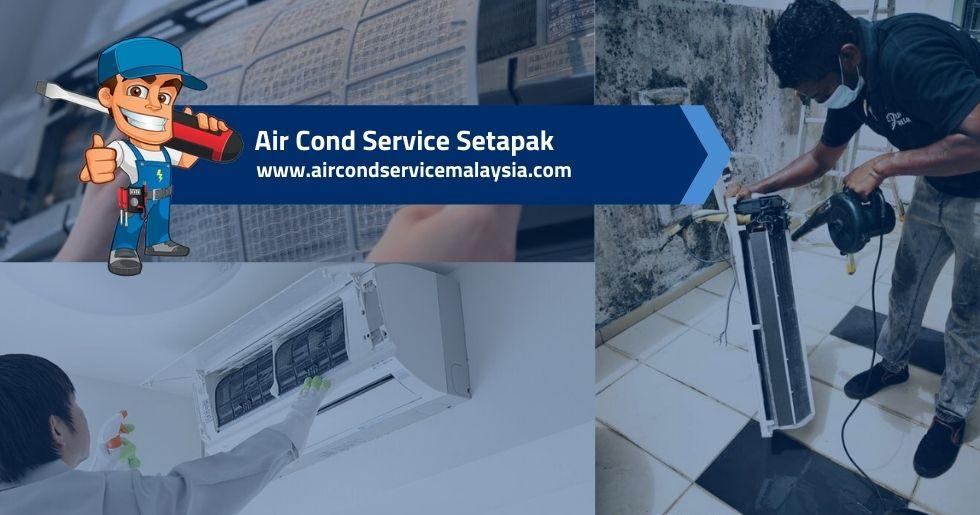 air cond service Setapak