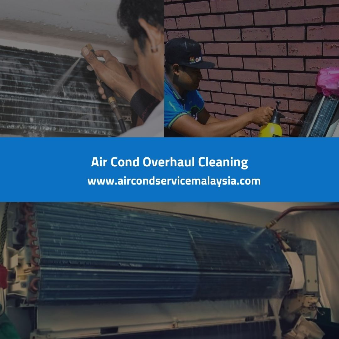 Air Cond Overhaul Cleaning