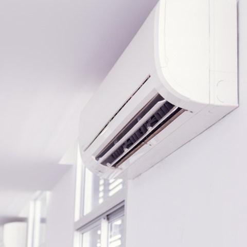 Wall mounted aircon