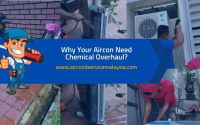 Why Your Aircon Need Chemical Overhaul