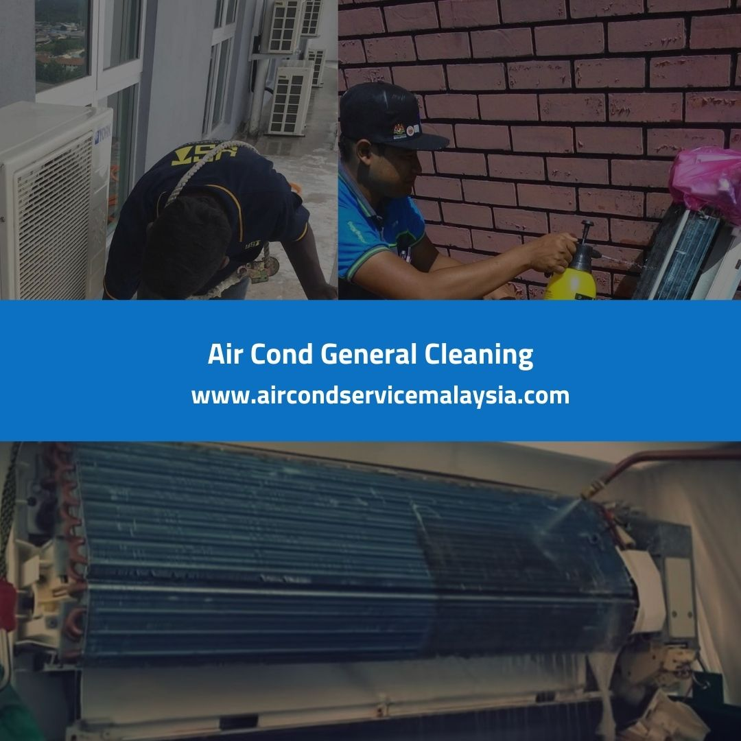 air cond general cleaning