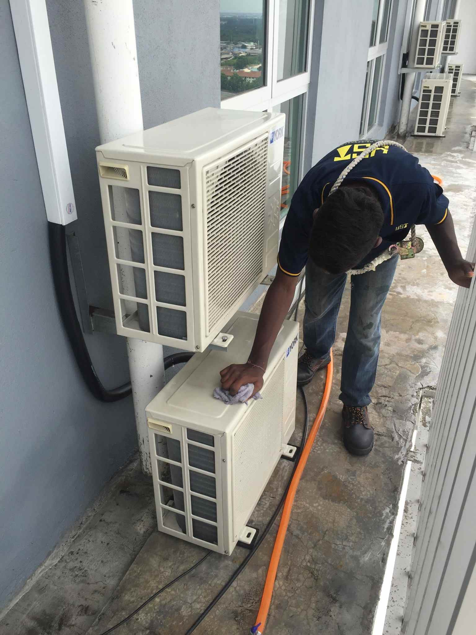 general air cond cleaning service
